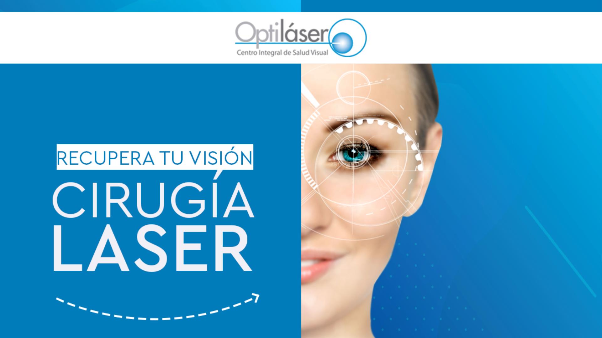 Cirugía láser para miopía y astigmatismo
